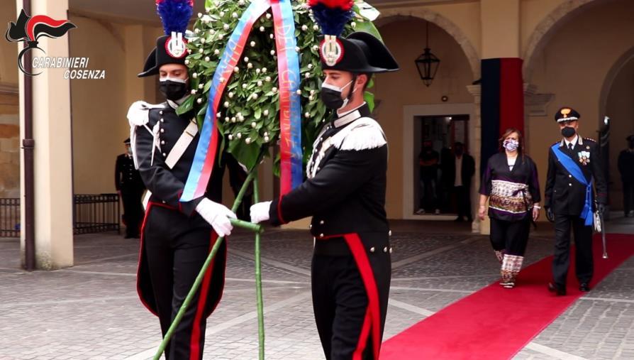 images Cosenza. L'Arma celebra il 207 anniversario ricordando l'impegno a tutela della legalità