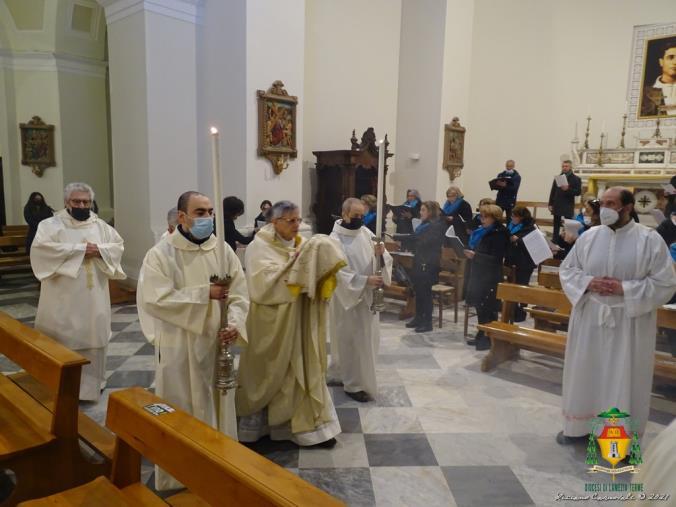 images Lamezia Terme. Il Vescovo Schillaci apre le celebrazioni del Triduo Pasquale con la Messa in Coena Domini