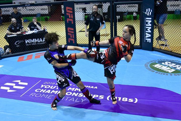 images La crotonese Giulia Ceraudo bronzo ai mondiali di arti marziali miste