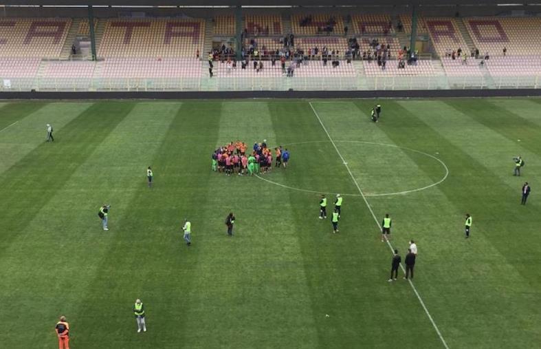 images Play-off. Catanzaro vs Albinoleffe: 0-1 finale. Svanisce il sogno delle Aquile