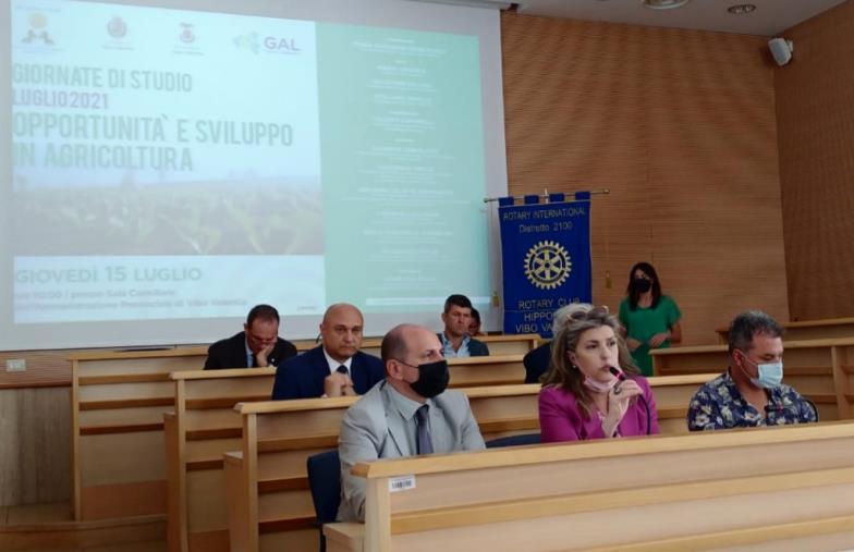 """images Il Rotary Club Hipponion Vibo Valentia si interroga su """"Orizzonti europei e politiche di sviluppo in agricoltura"""""""
