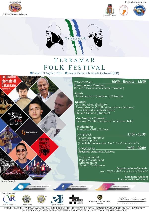 """images Cotronei, il 3 agosto il via al festival """"Identità e cultura"""""""