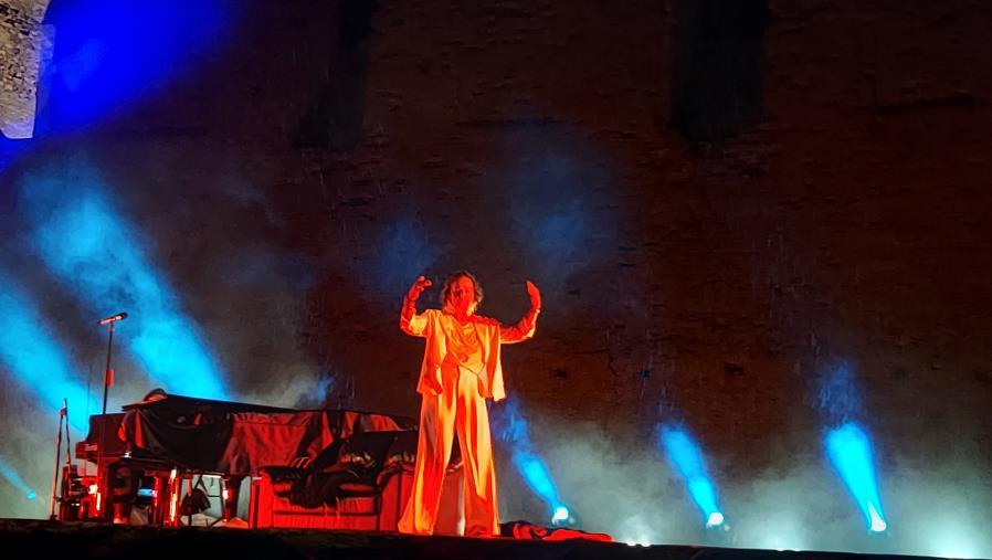 images Catanzaro. Il maltempo impone lo stop al concerto di Gianna Nannini al Parco Scolacium