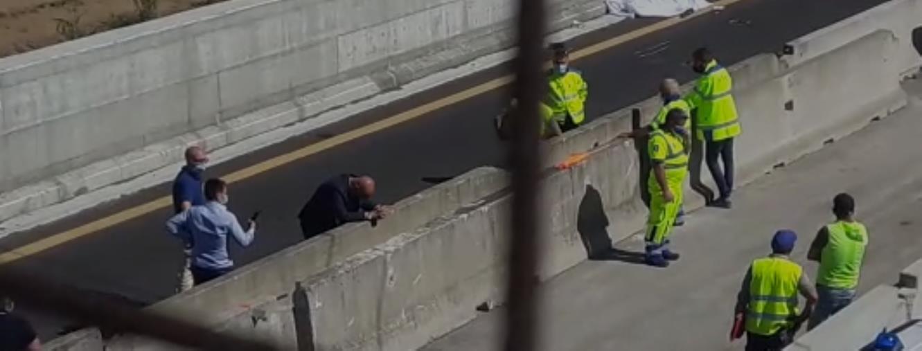images Incidente in autostrada a Pizzo: operaio travolto e ucciso da un'auto