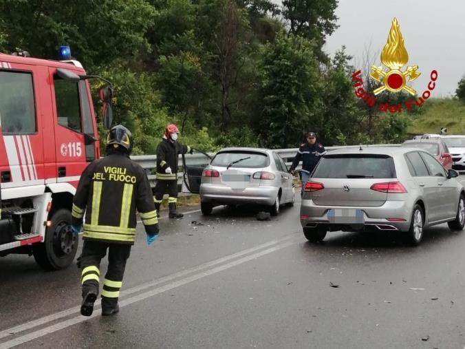 images Incidente sulla Ss 107 nel Cosentino: ferito un bambino