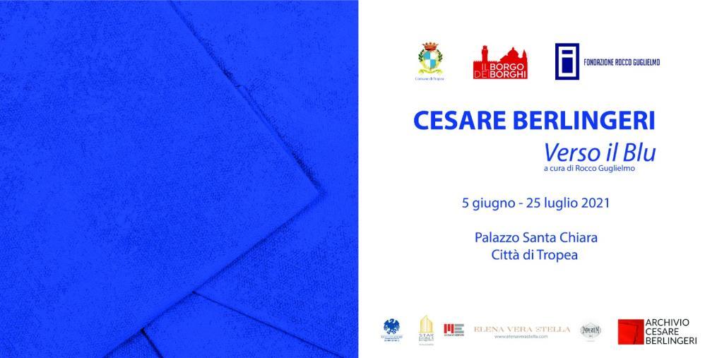 """images Tropea. Sabato inaugura """"Verso il Blu"""", la personale di Cesare Berlingeri"""
