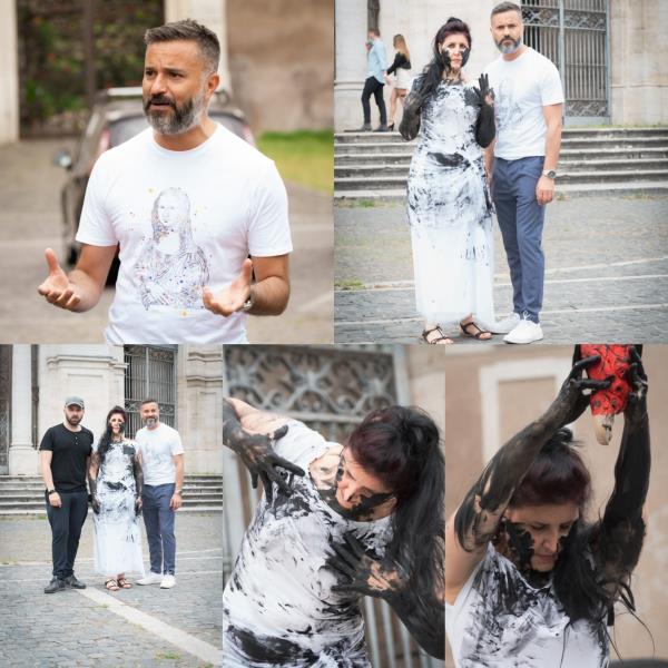 images Artisti calabresi contro ogni forma di violenza, Kardietà 'sbarca' a Roma per promuovere la  crescita umana