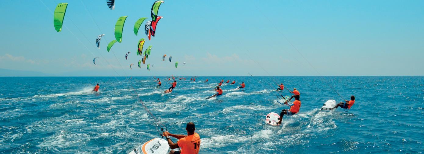 images Crotone per tre giorni capitale del kitesurf