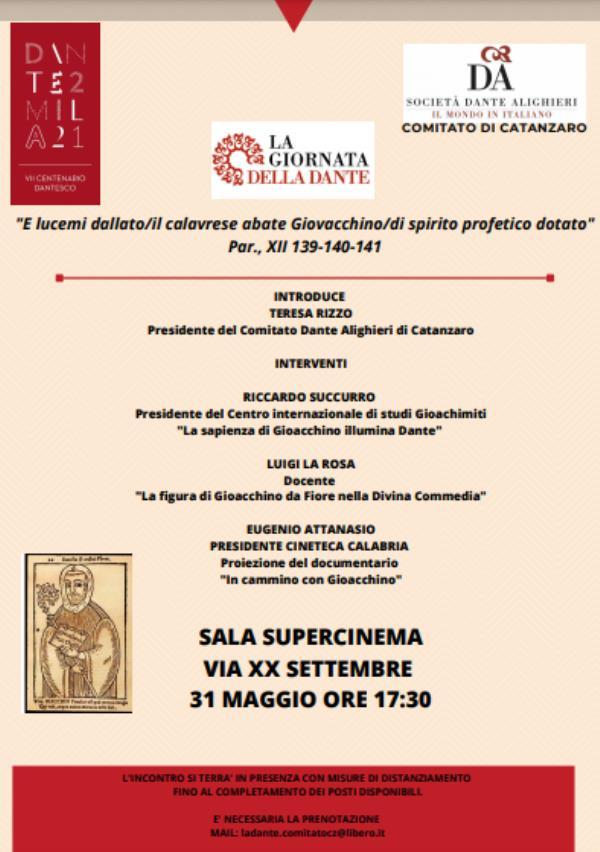 images 'La Giornata della Dante'. Il 31 maggio al Supercinema di Catanzaro l'evento dedicato ad Alighieri