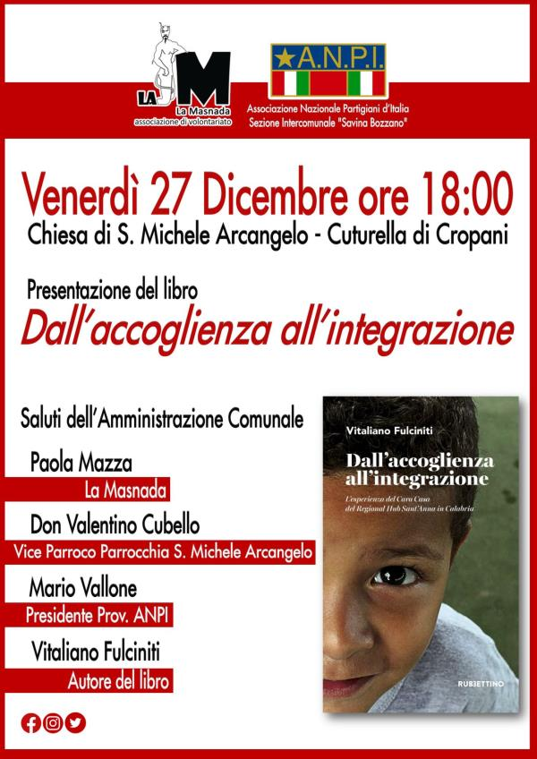 images Dall'accoglienza all'integrazione, oggi la presentazione a Cuturella di Cropani