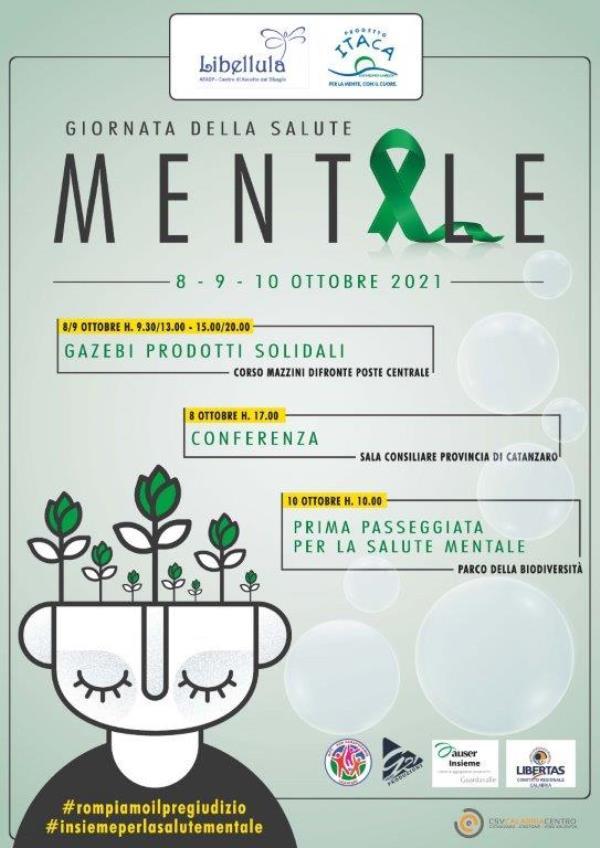 images Catanzaro. Giornata mondiale della salute mentale: l'8 ottobre la conferenza stampa a Palazzo di Vetro