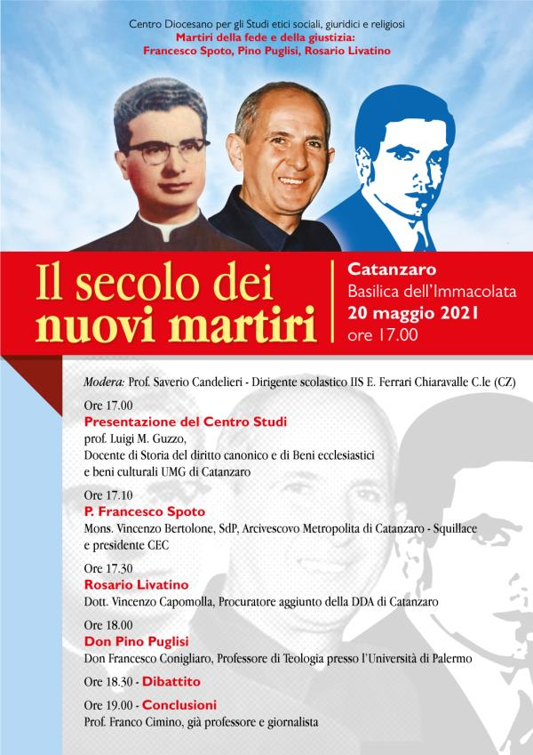 """images Catanzaro. Nella Basilica dell'Immacolata si discuterà de """"Il secolo dei nuovi martiri"""""""