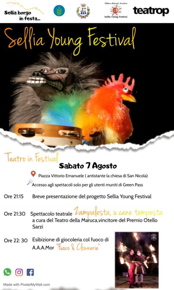"""images Domani si alza il sipario del """"Sellia Young Festival-Cultura, Ambiente, Territorio"""""""