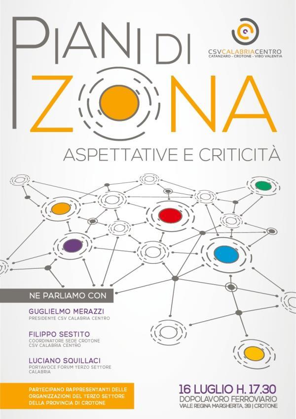 """images Crotone. Terzo settore, il CSV Calabria Centro organizza l'incontro """"Piani di Zona: aspettative e criticità"""""""
