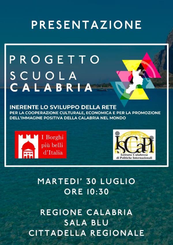 """images """"Scuola Calabria"""", il progetto per i residenti all'estero"""