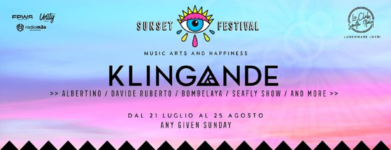 """images  """"Sunset Festival"""" a Reggio Calabria, rinviata la conferenza stampa"""