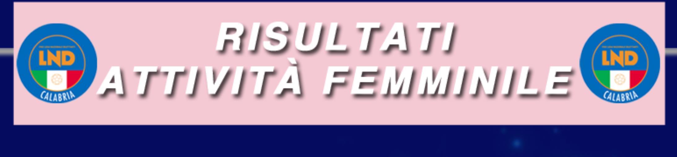 Calcio femminile. Risultati e classifiche della prima giornata