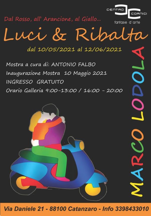 images Le luci e i colori di Marco Lodola in mostra a Catanzaro