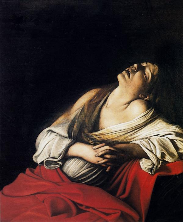 """images Caracciolo: """"La Maddalena. Fra Caravaggio e Canova: l'insolito confronto proposto da Sgarbi"""""""