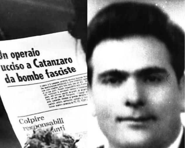 images Catanzaro. Anpi e Libera ricordano Malacaria, ucciso 50 anni fa da una bomba di matrice fascista