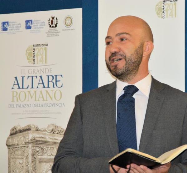 """images Irto: """"Conferma di Malacrino al museo di Reggio è un'ottima notizia"""""""