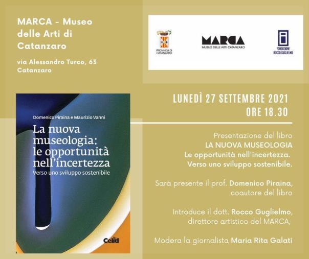 """""""La nuova museologia"""", lunedì al Marca la presentazione del libro di Domenico Piraina e Maurizio Vanni"""