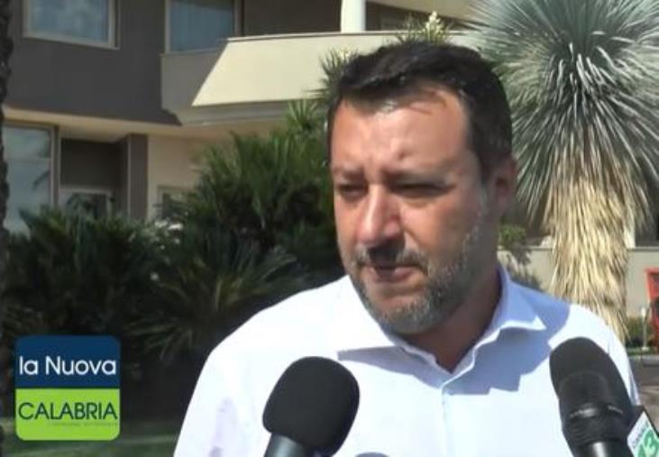 """images Regionali. Salvini: """"Orgoglioso delle liste della Lega. Spirlì in questi mesi ha dimostrato di che pasta siamo fatti"""""""