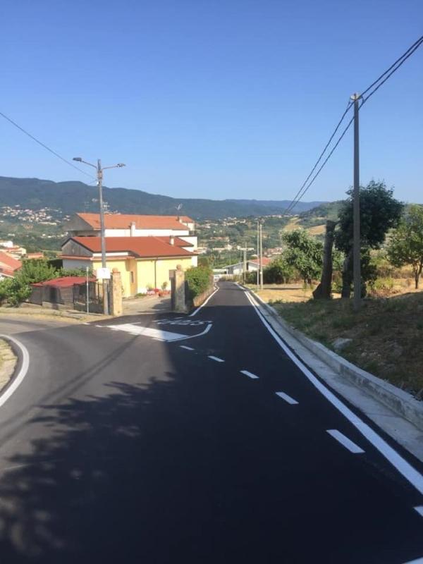 images Mendicino, conclusi i lavori di Via San Francesco di Paola