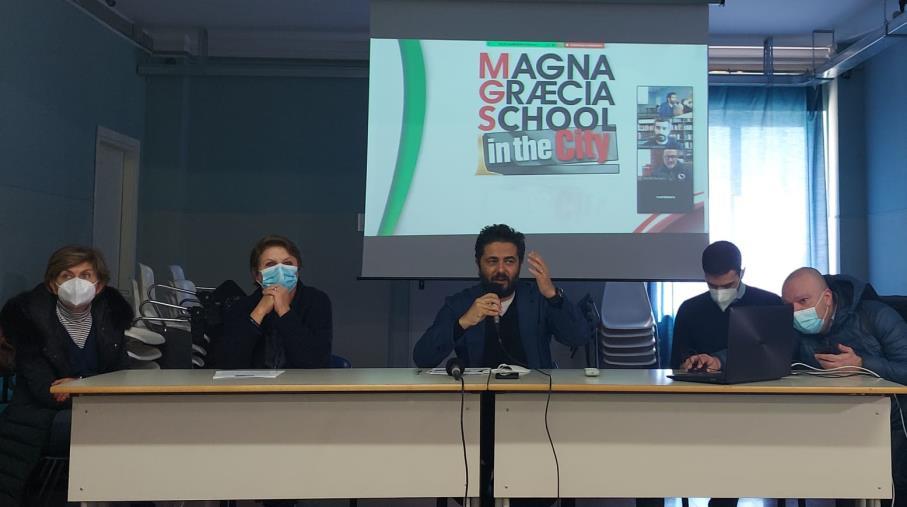 images MGFF-School in the City. Gli studenti parlano di immigrazione con i registi Orso e Peter Miyakawa
