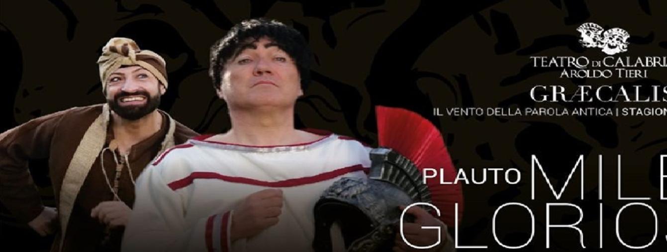 """images Sold out al San Giovanni per lo spettacolo """"Miles gloriosus"""" a cura del Teatro di Calabria"""