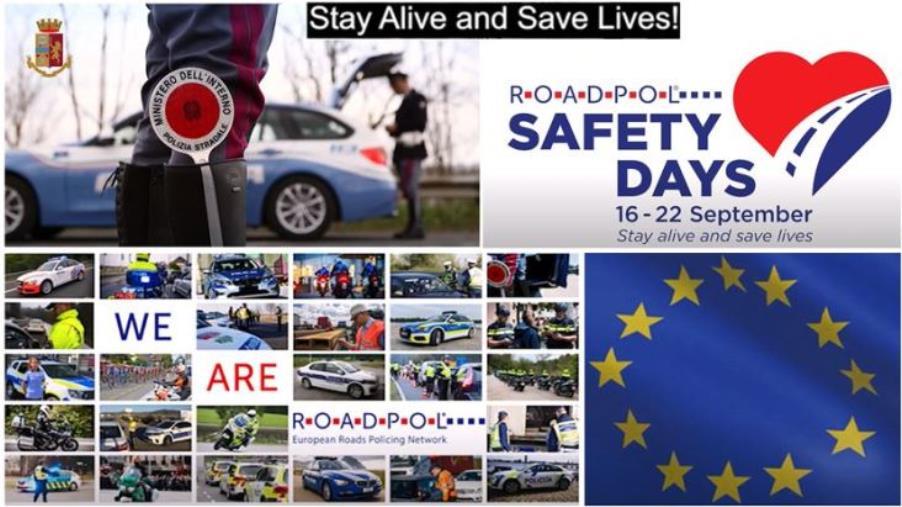 """Sicurezza stradale. Dal 16 al 22 settembre anche in Calabria la Campagna europea """"Safety Days"""""""