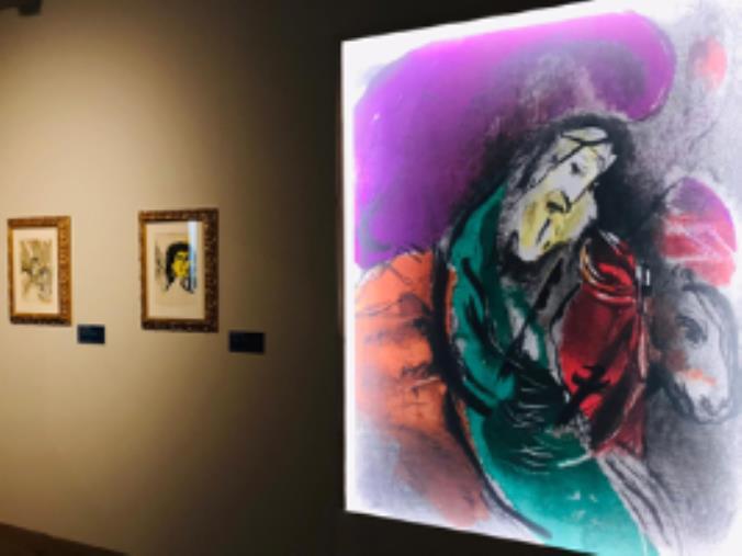 """images Catanzaro. Prorogata fino al 10 ottobre la mostra """"Chagall. La Bibbia"""" al Complesso Monumentale del San Giovanni"""