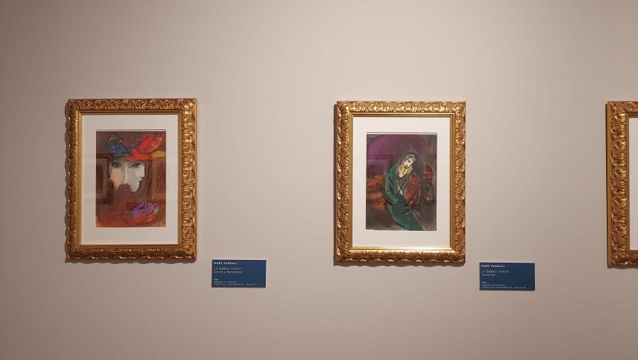 images Catanzaro. A Ferragosto la mostra di Chagall sarà chiusa al pubblico