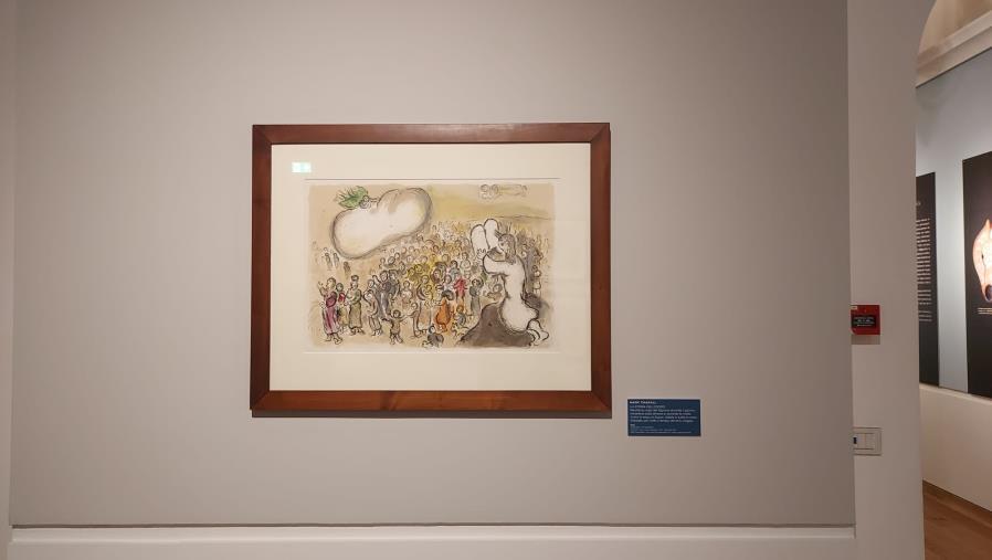 """images Mostra """"Chagall. La Bibbia"""" al San Giovanni. Ingresso gratuito per tutti gli studenti della provincia"""