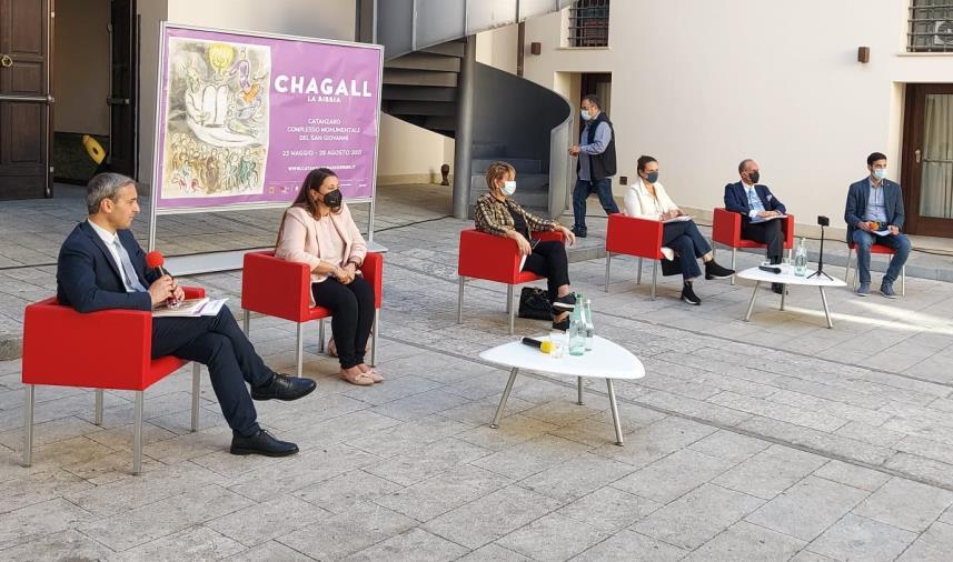 """images Catanzaro. Martedì 24 agosto al complesso San Giovanni nuova conversazione sulla Calabria ebraica nell'ambito della mostra """"Chagall. La Bibbia"""""""