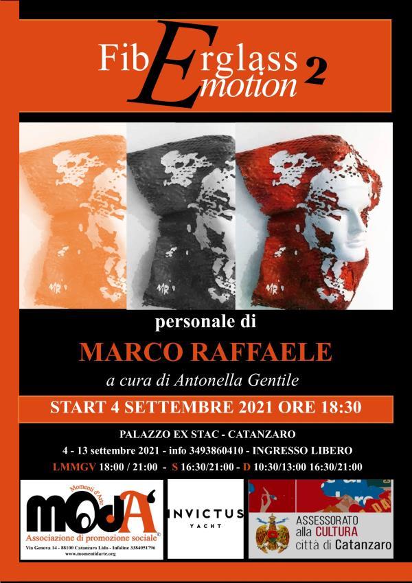 """images Catanzaro. All'Ex Stac arriva """"FiberGlass Emotion 2"""", la mostra dell'artista Marco Raffaele"""