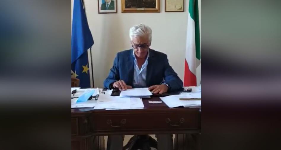 """images Squillace. Il sindaco chiude la Provinciale 53: """"Situazione di pericolo determinata dalle piogge dei giorni scorsi"""""""