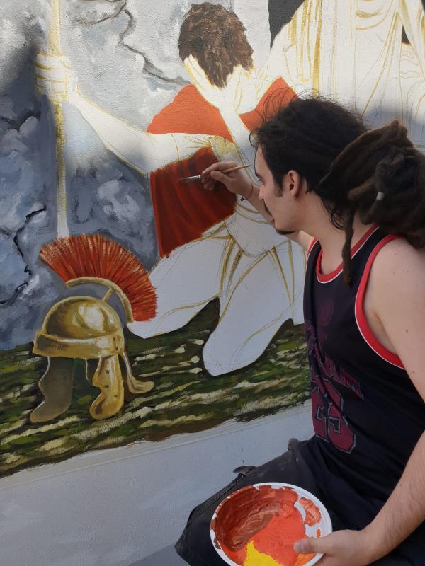 """images Gironda: """"Percorso di murales a Gagliano, esempio  di promozione del turismo religioso"""""""