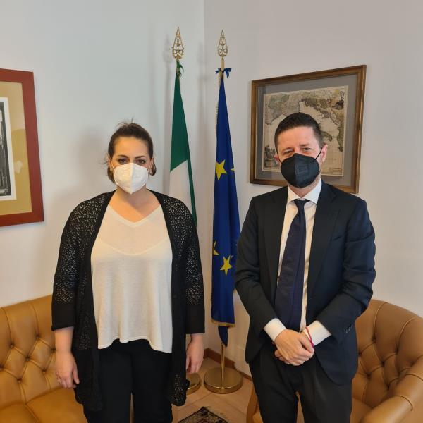 """images Catanzaro. Rossi a colloquio con il sottosegretario Nesci: """"Necessario che imprese calabresi abbiano un interlocutore al Governo"""""""