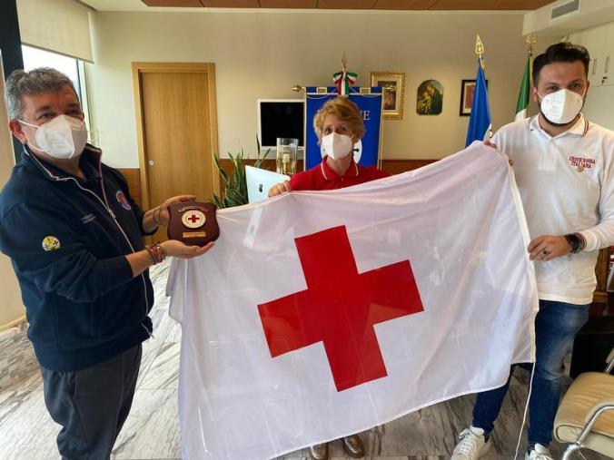 """images Giornata della Croce Rossa, Spirlì: """"Sempre al fianco dei calabresi, grande collaborazione nella campagna vaccinale"""""""