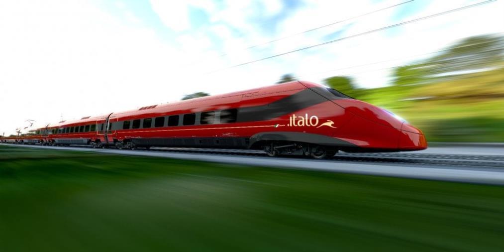 images Italo. Dal 27 maggio rafforzata la tratta Torino-Reggio Calabria e riattivata la stazione di Scalea