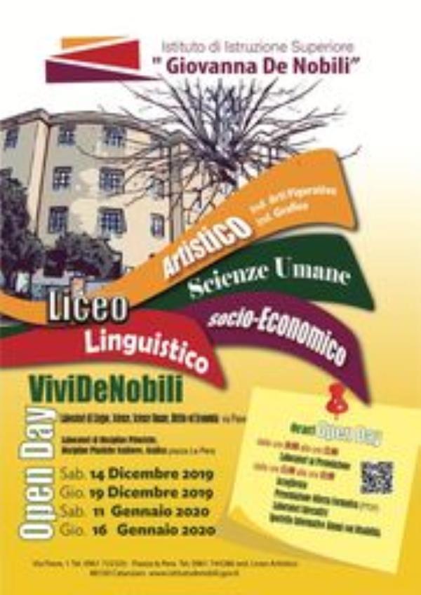 """images L'Istituto """"De Nobili"""" di Catanzaro apre le porte agli studenti e illustra la sua offerta formativa"""