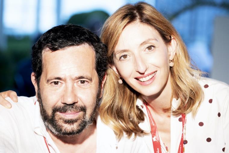 """images David di Donatello 2021. I """"Migliori produttori"""" sono Marta Donzelli e il catanzarese Gregorio Paonessa con il film """"Miss Marx"""""""