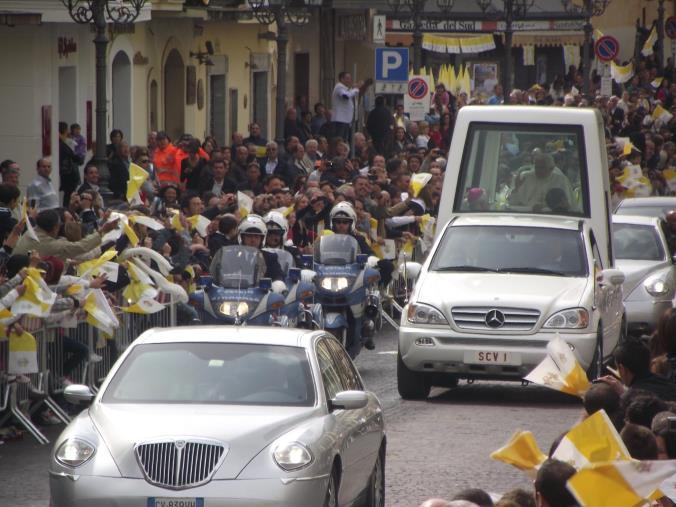 """images Decennale della visita di Papa Benedetto XVI. La Diocesi: """"Suo monito più vivo che mai in vista del Sinodo"""""""