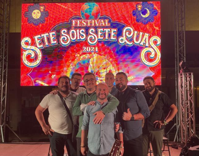 images Musica. I Parafoné esportano la musica popolare calabrese in Portogallo