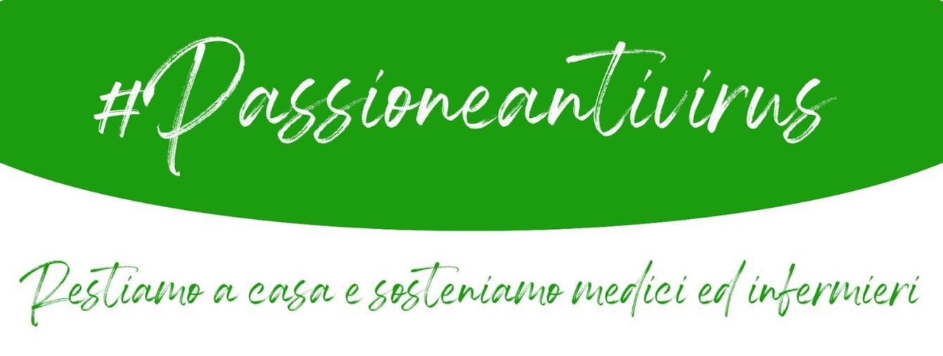 """images #Passioneantivirus, l'hashtag ideato dall'imprenditore Luca Brescia, per sollecitare donazioni al """"Pugliese"""""""
