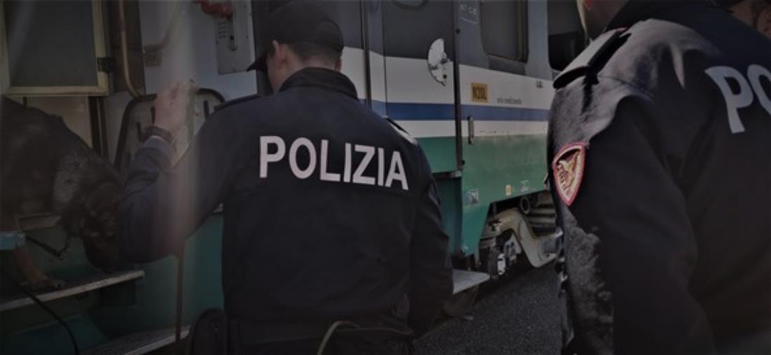 Catanzaro. In treno senza biglietto, aggredisce e ferisce due agenti della Polfer: extracomunitario arrestato