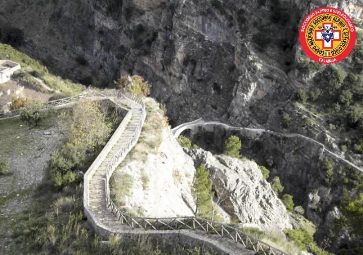 images Civita. Malore per un 56enne, interviene il soccorso alpino Calabria