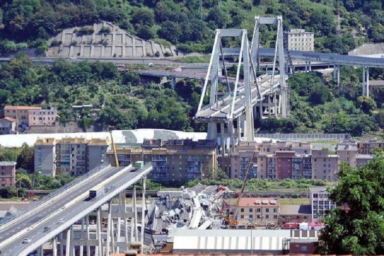 """images Ricostruzione ponte di Genova. Il commissario blocca un'azienda di autotrasporti """"segnalata"""" dalla Prefettura di Reggio Calabria"""