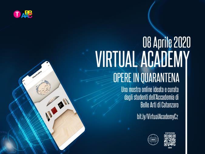 """images Coronavirus. Gli studenti dell'Accademia di Belle Arti di Catanzaro preparano la mostra """"Virtual Accademy- Opere in Quarantena"""""""